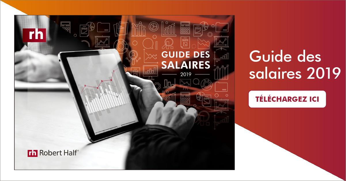 guide des salaires 2019