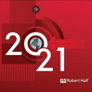 Cover Robert Half Salary Guide 2021